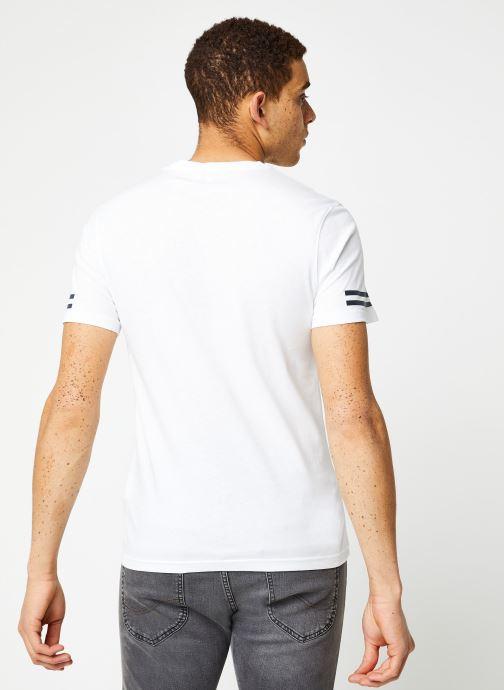 Vêtements Aigle Narendo Blanc vue portées chaussures