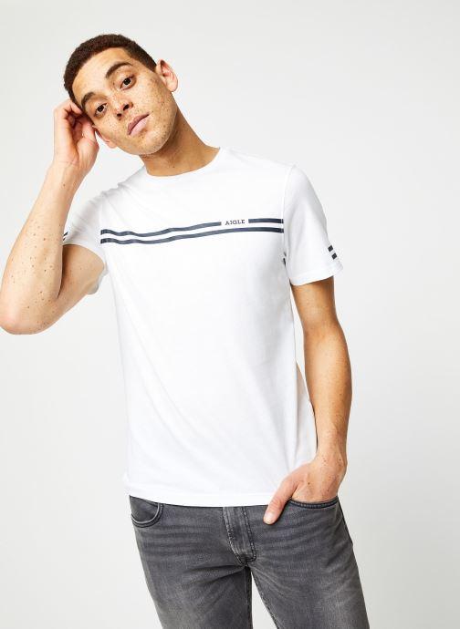 Vêtements Aigle Narendo Blanc vue détail/paire