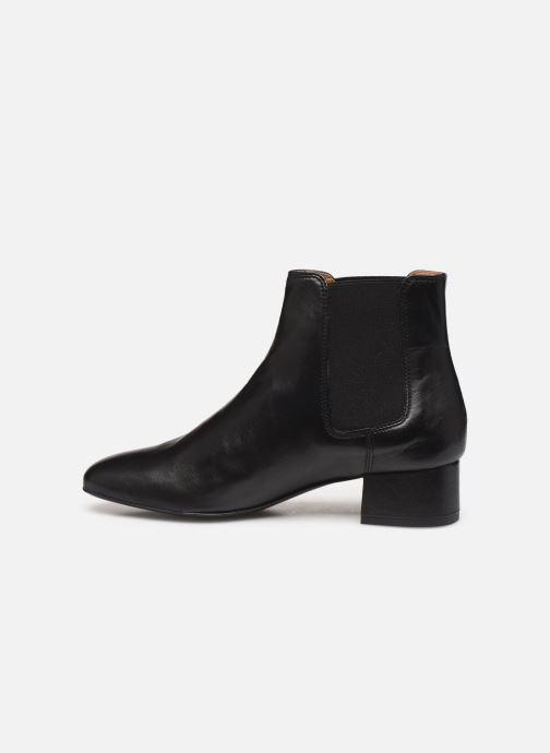 Bottines et boots Georgia Rose Riminia Noir vue face