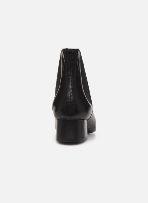 Bottines et boots Georgia Rose Riminia Noir vue droite