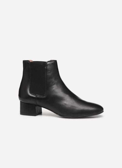 Bottines et boots Georgia Rose Riminia Noir vue derrière