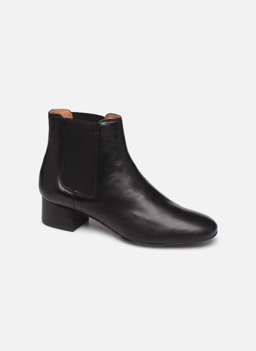 Bottines et boots Georgia Rose Riminia Noir vue détail/paire