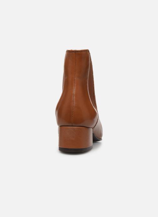 Bottines et boots Georgia Rose Riminia Marron vue droite