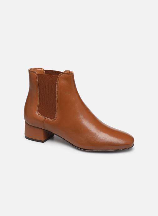 Bottines et boots Georgia Rose Riminia Marron vue détail/paire