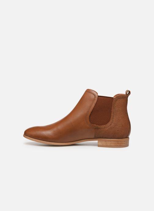 Bottines et boots Georgia Rose Roulipa Marron vue face