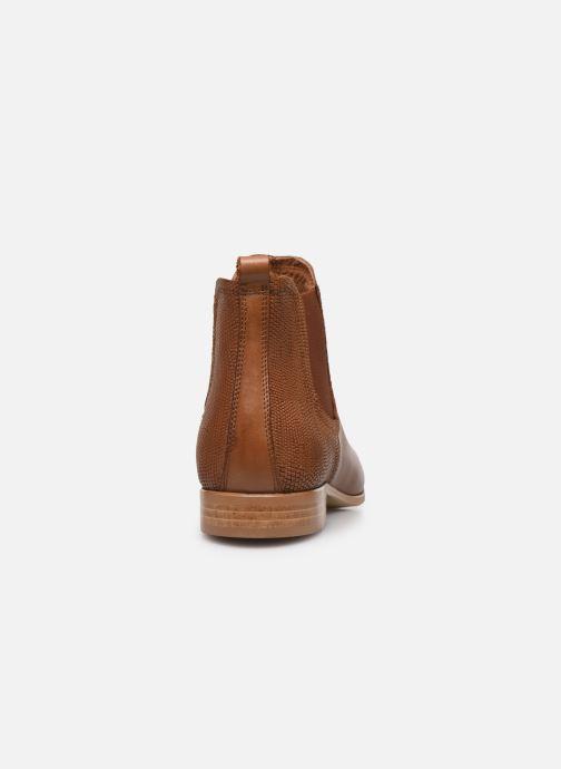 Bottines et boots Georgia Rose Roulipa Marron vue droite