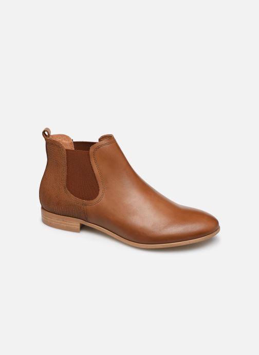 Bottines et boots Georgia Rose Roulipa Marron vue détail/paire