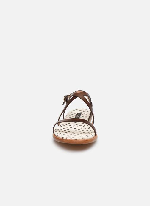 Sandales et nu-pieds Neosens AURORA S946F Marron vue portées chaussures