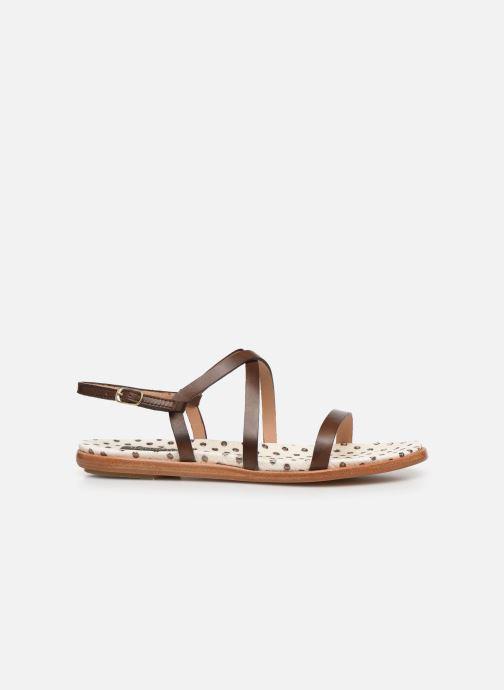 Sandales et nu-pieds Neosens AURORA S946F Marron vue derrière