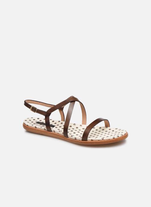 Sandales et nu-pieds Neosens AURORA S946F Marron vue détail/paire