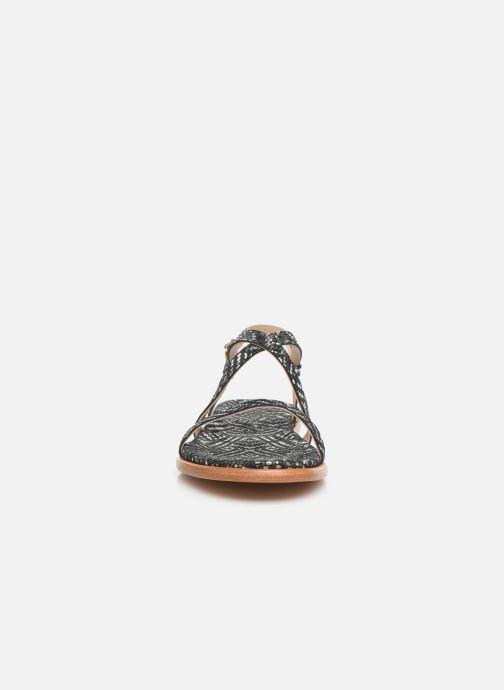 Sandales et nu-pieds Neosens AURORA S946F Noir vue portées chaussures