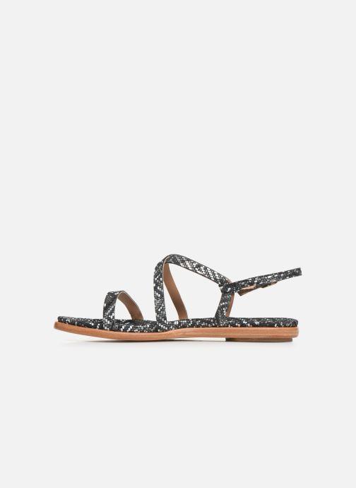 Sandales et nu-pieds Neosens AURORA S946F Noir vue face
