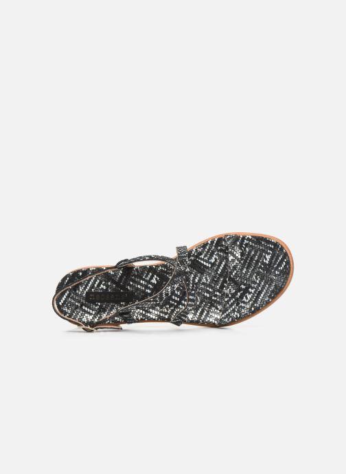 Sandales et nu-pieds Neosens AURORA S946F Noir vue gauche