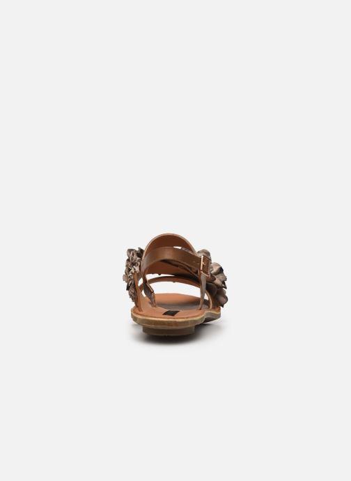 Sandales et nu-pieds Neosens DAPHNI S3122 Beige vue droite