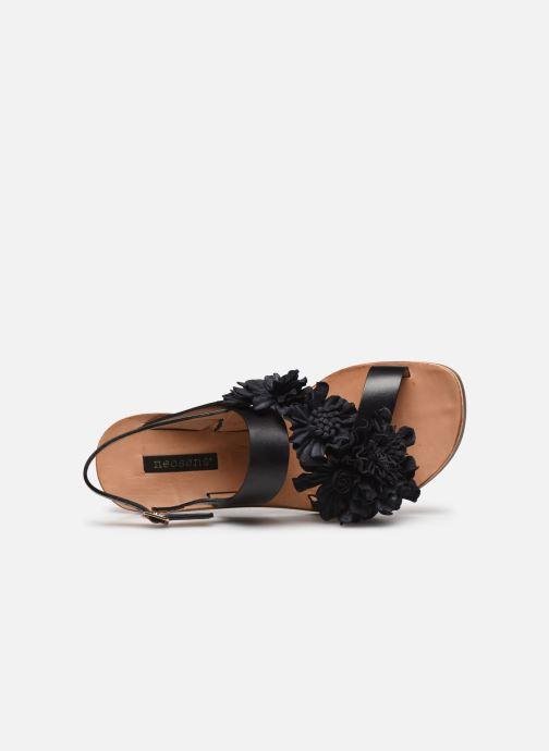 Sandales et nu-pieds Neosens DAPHNI S3122 Noir vue gauche
