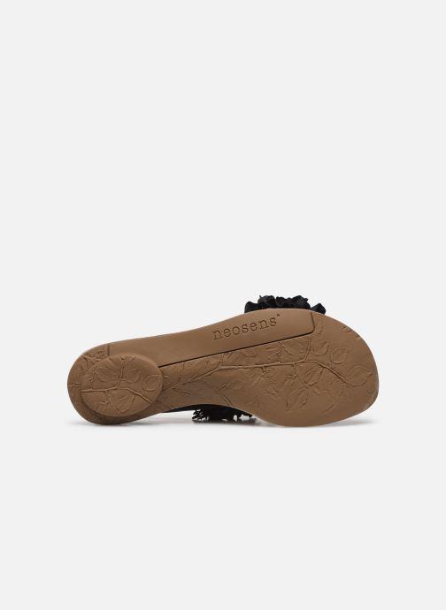 Sandales et nu-pieds Neosens DAPHNI S3122 Noir vue haut