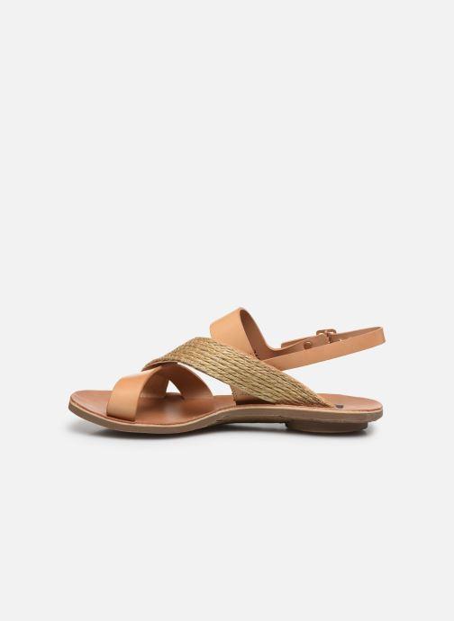 Sandales et nu-pieds Neosens DAPHNI S3123 Beige vue face