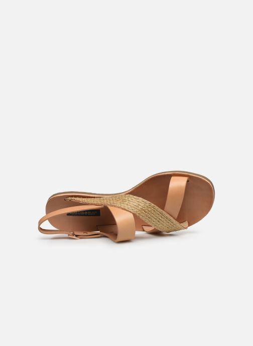 Sandales et nu-pieds Neosens DAPHNI S3123 Beige vue gauche