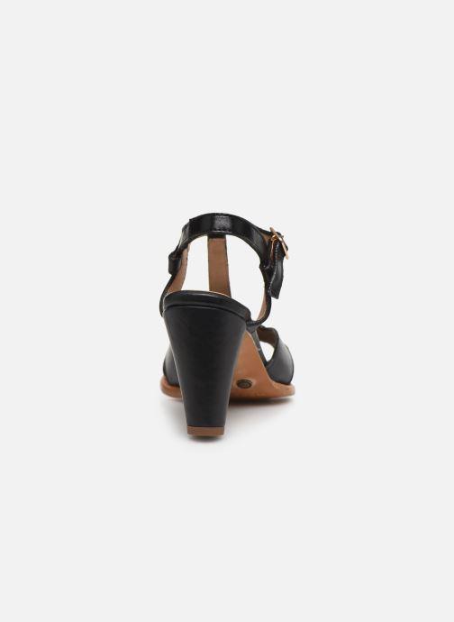 Sandales et nu-pieds Neosens MONTUA S968 Noir vue droite