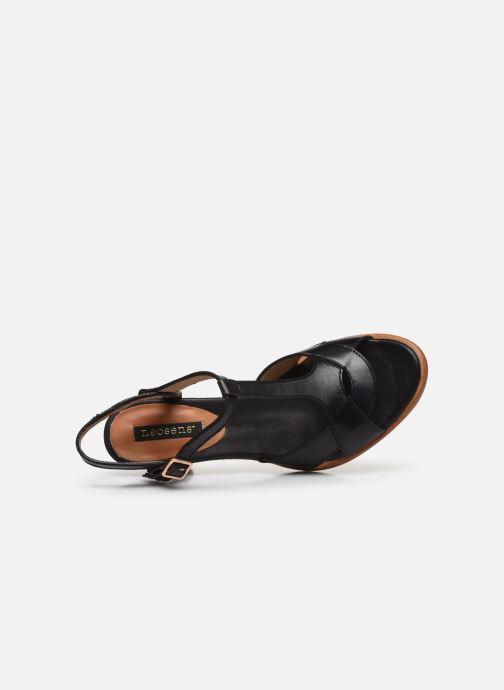 Sandales et nu-pieds Neosens MONTUA S968 Noir vue gauche