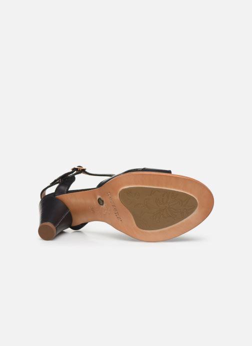Sandales et nu-pieds Neosens MONTUA S968 Noir vue haut
