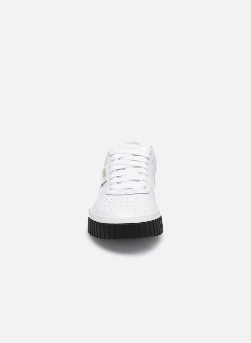 Baskets Puma Cali Blanc vue portées chaussures