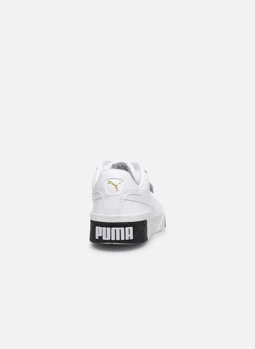 Baskets Puma Cali Blanc vue droite