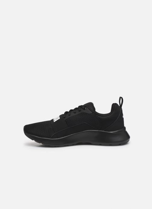 Sneaker Puma Wired schwarz ansicht von vorne