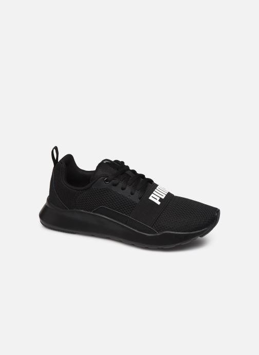 Baskets Puma Wired Noir vue détail/paire