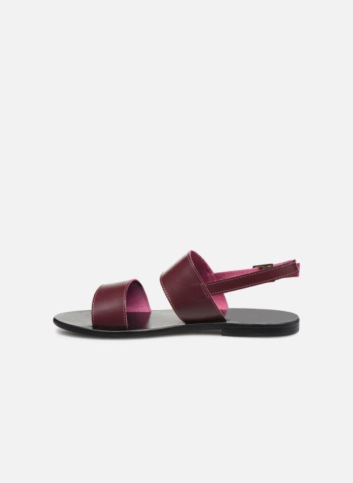 Sandali e scarpe aperte White Sun Paloma Bordò immagine frontale