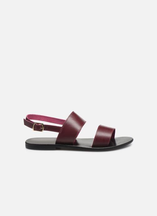 Sandali e scarpe aperte White Sun Paloma Bordò immagine posteriore