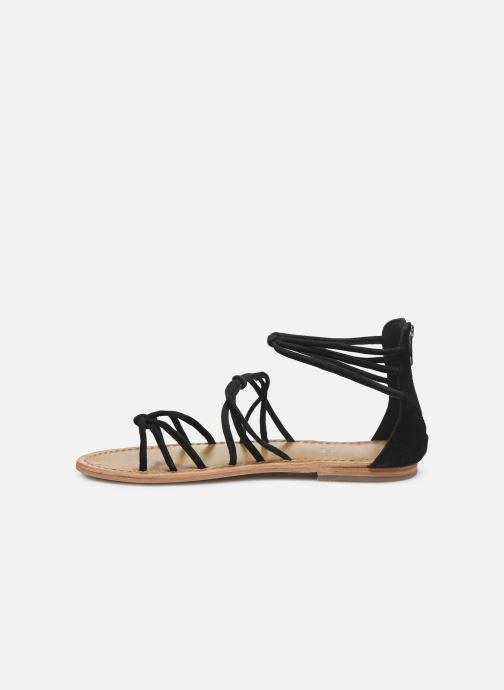 Sandali e scarpe aperte White Sun Pera Nero immagine frontale