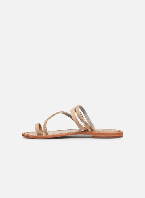 Sandals White Sun Lopha Beige front view