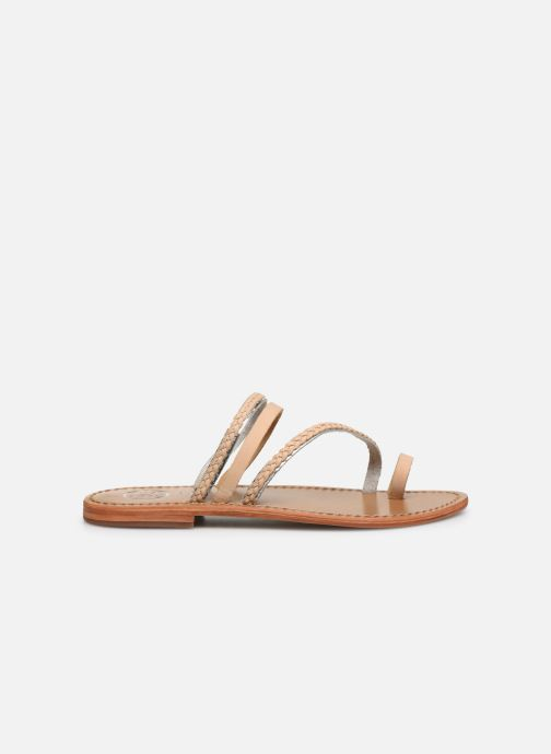 Sandals White Sun Lopha Beige back view