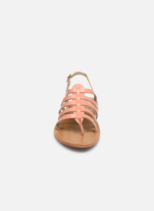 Sandales et nu-pieds White Sun Fusinus Beige vue portées chaussures