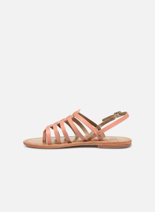 Sandales et nu-pieds White Sun Fusinus Beige vue face
