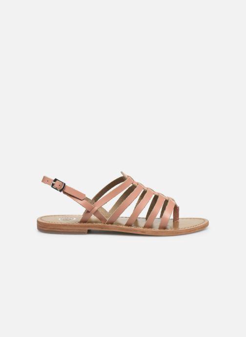 Sandales et nu-pieds White Sun Fusinus Beige vue derrière