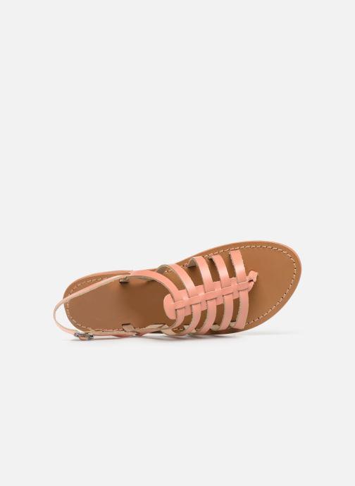 Sandales et nu-pieds White Sun Fusinus Beige vue gauche