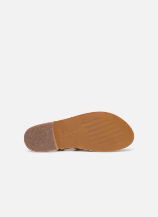Sandales et nu-pieds White Sun Fusinus Beige vue haut