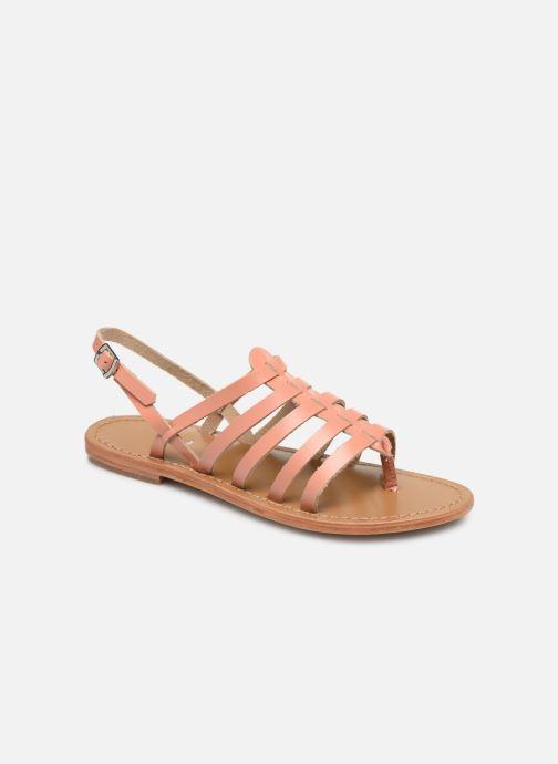 Sandales et nu-pieds White Sun Fusinus Beige vue détail/paire
