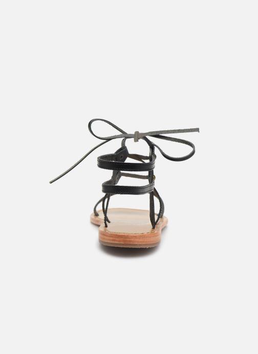 Sandales et nu-pieds White Sun Rondonia Noir vue droite