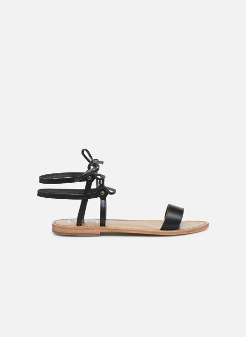 Sandales et nu-pieds White Sun Rondonia Noir vue derrière