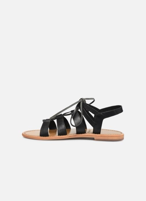 Sandali e scarpe aperte White Sun Piaui Nero immagine frontale