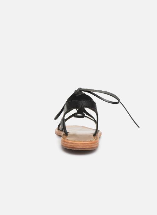 Sandali e scarpe aperte White Sun Piaui Nero immagine destra