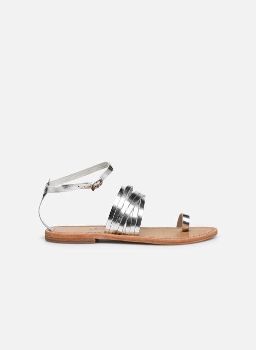 Sandali e scarpe aperte White Sun Pessoa Argento immagine posteriore