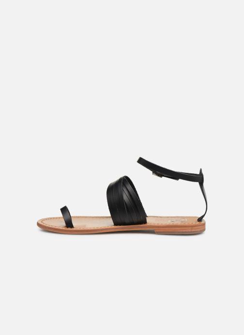 Sandales et nu-pieds White Sun Pessoa Noir vue face