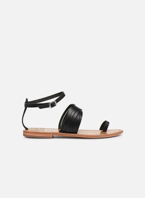 Sandales et nu-pieds White Sun Pessoa Noir vue derrière