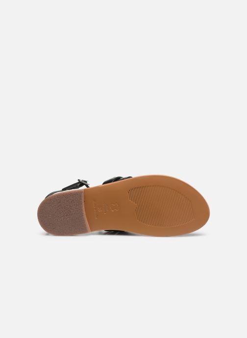 White Sun Pessoa Sandals in Black (425311)