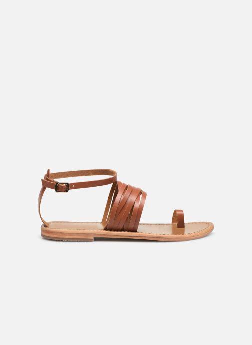Sandali e scarpe aperte White Sun Pessoa Marrone immagine posteriore