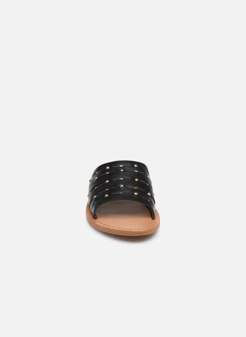 Mules et sabots White Sun Estoril Noir vue portées chaussures